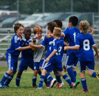 Our Playing Philosophy - Kids celebrating